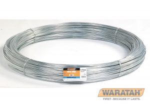 GALVANIZED LOW TENSIA low tensile wire used in traditional fencing systems where posts are closely spaced to support the wires. Effective in fire prone areas. Good for use in low-pressure situations.LE FEATURES