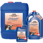 WHAT IS FLUKAZOLE® C PLUS SELENIUM? Synergised combination of triclabendazole and oxfendazole Broad spectrum worm and liver fluke control, including all three stages of liver fluke (including the dangerous 2 week old fluke) Contains selenium Free-flowing oral drench for cattle and sheep