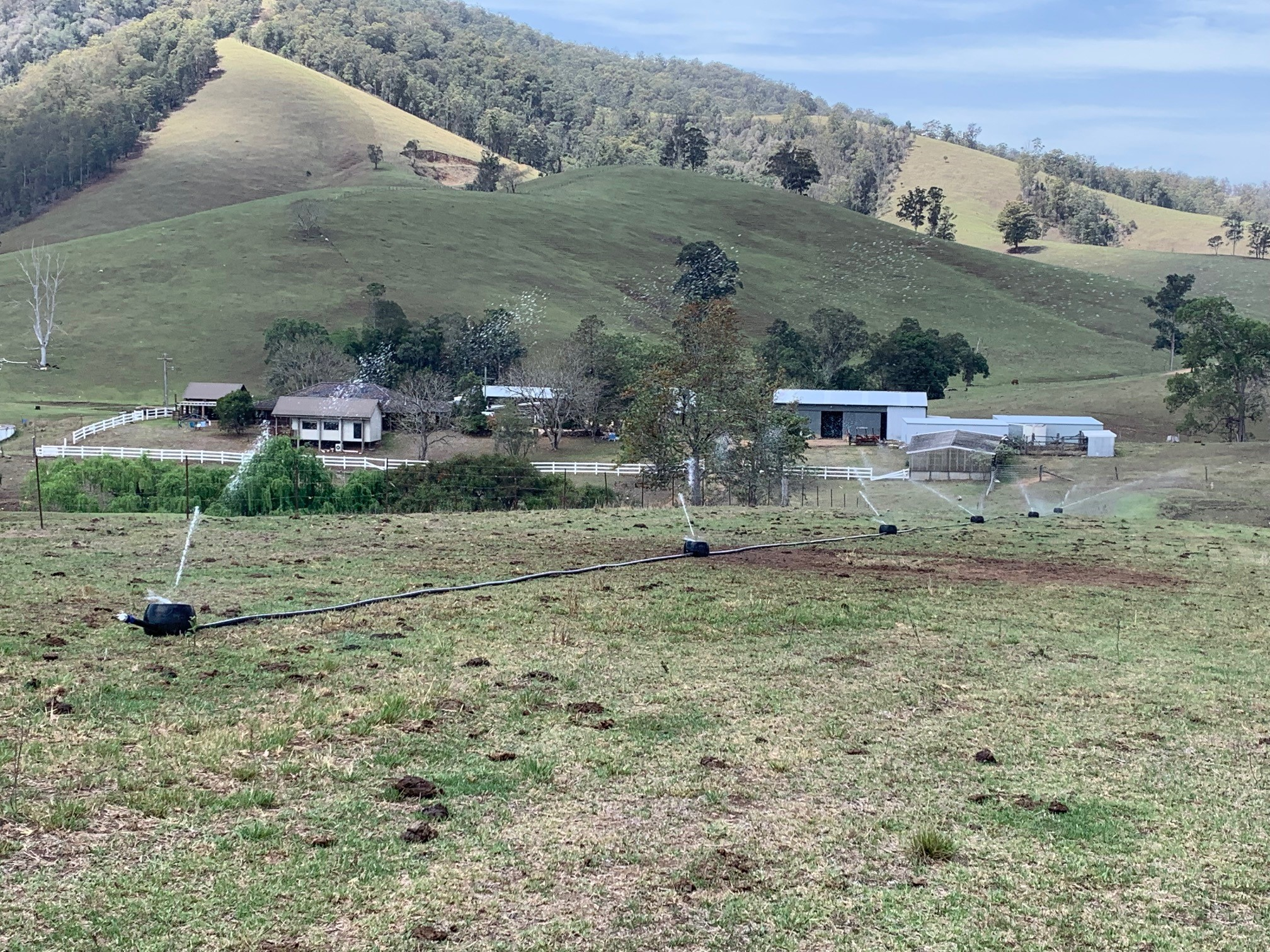 Irrigating with k-line by Lorentz solar pump