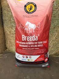 Mitavite® Breeda® is one of the most trusted and popular complete feeds available.  Supporting the development and replenishment of body tissues during critical growth phases such as in a mares final 3 months of pregnancy.  Breeda® has been scientifically formulated to promote optimal, balanced growth and to overcome the problems associated with raising young horses on less than perfect pasture. Critical to the success of Breeda® is the Essential Amino Acid profile and the positive impact that this has on the development of lean muscle, strong tendons and smooth flat bone. This, coupled with the delivery of highly digestible energy, vitamins and minerals in a steam extruded, palatable nugget, assists in limiting peaks in blood sugars often associated with bone developmental problems.