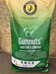 Mitavite® Gumnuts® is Australia's original and most trusted feed especially formulated for aged horses and ponies. Highly nutritious, palatable and safe to feed, Gumnuts® provides a unique balance of vitamins and minerals specifically formulated to address the challenges of old age. Omega 3 oils, antioxidants and essential amino acids are provided in a highly digestible form. Gumnuts® reduces to a soft mash when water is added.