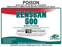A quality formulation containing high purity technical for broad-spectrum insect control in many use situations.
