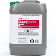 Starane Advanced is a broadleaf herbicide used for the control of a wide range of weeds in winter cereals as well as woody weeds in agricultural noncrop areas.
