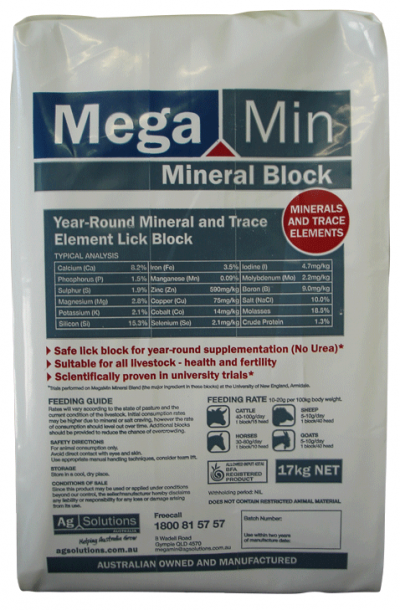 Macro Minerals and Trace Minerals for Optimum Production, Health and Fertility Safe year-round supplementation (No Urea) Scientifically proven in university trials Suitable for all livestock – health and fertility
